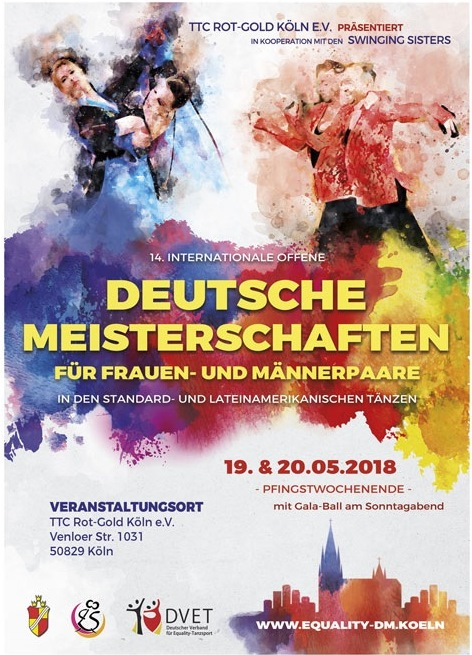 Flyer der Equality-DM 2018